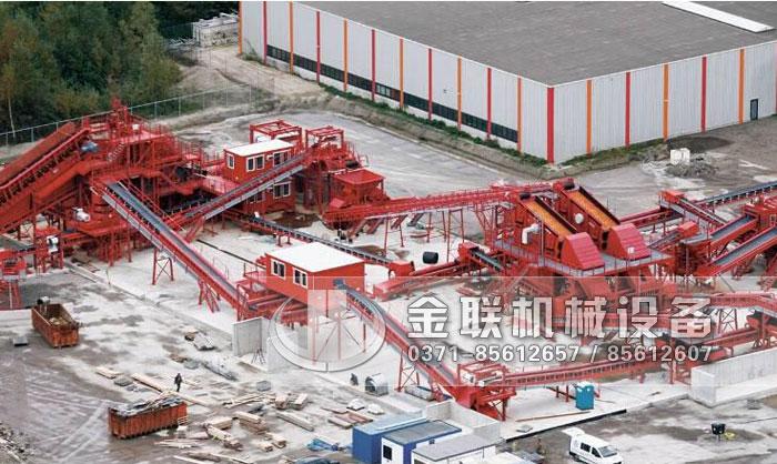 建筑垃圾粉碎机生产线