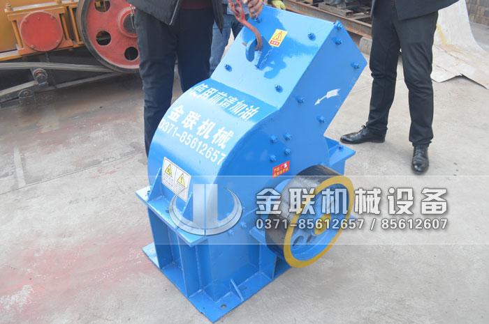 PC310X520锤式破碎机发往河南洛河破碎化工产品4