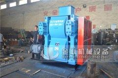 4PG0806中型四辊破碎机发往广西南宁破碎铁矿石