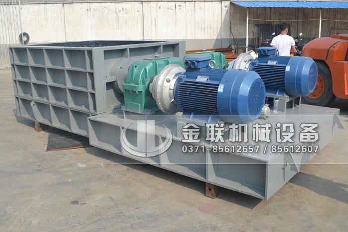 2PLF80/200强力fen级双chi辊破碎机fawang山dongzi博破碎煤炭4