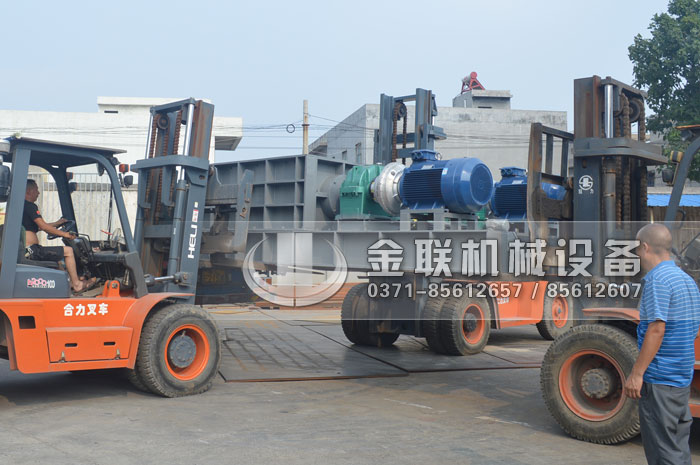 2PLF80/200强力fen级双chi辊破碎机fawang山dongzi博破碎煤炭6