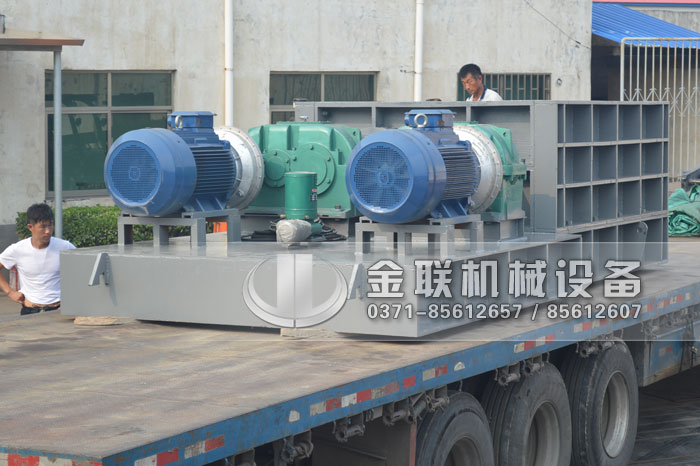 2PLF80/200强力fen级双chi辊破碎机fawang山dongzi博破碎煤炭8
