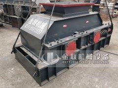 2PG1000x700中型制砂设备液压对辊制砂机发往湖南