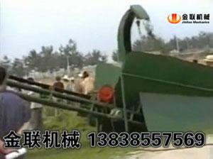 牧草,苜蓿草烘干机现场视频